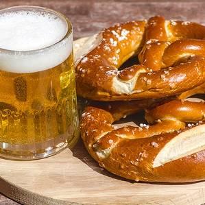 beer-pretzels