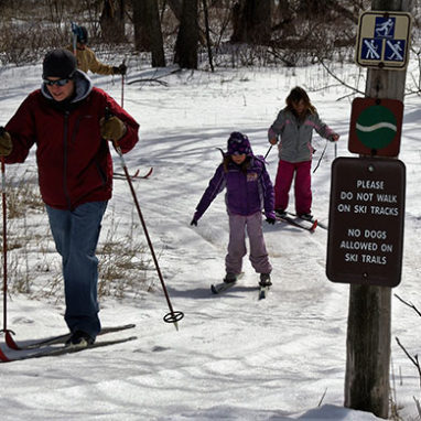 Cross-Country Skiing Activities & Parks