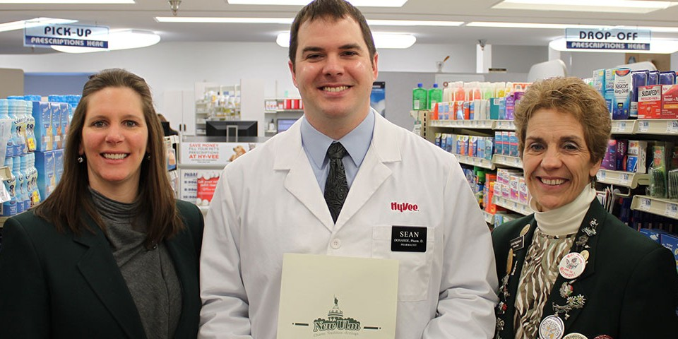 Hy-Vee New Pharmacist