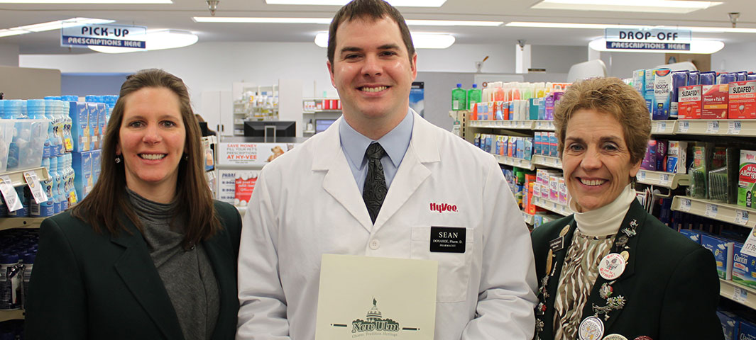 Hy Vee Has A New Pharmacist New Ulm Chamber Amp Cvb