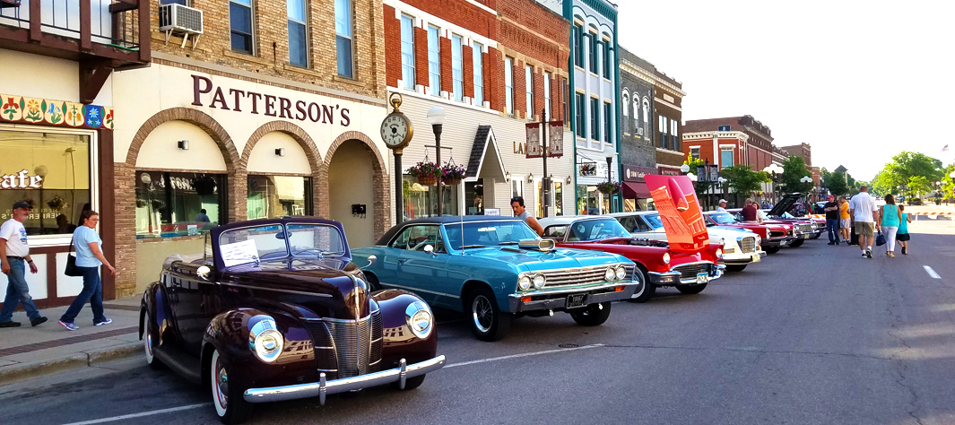 Car Hop and Shop Classic Car Cruise-in
