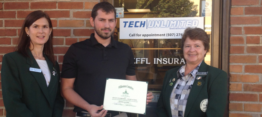 Tech Unlimited, Chad Aukes