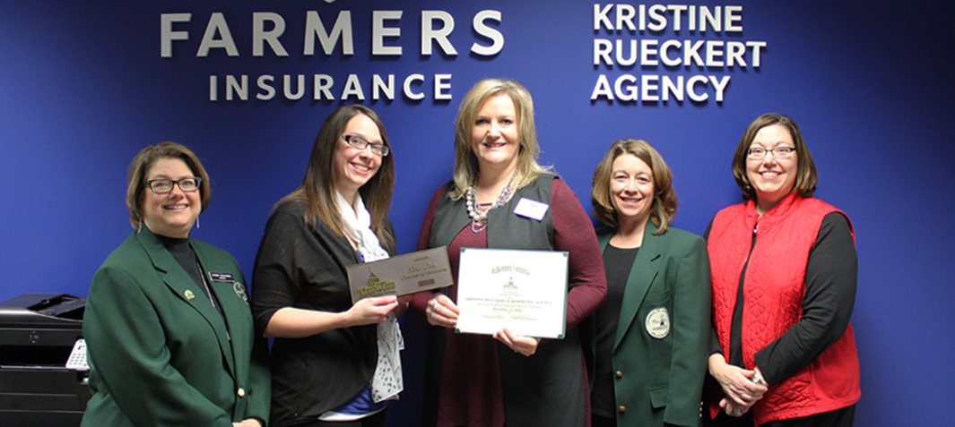 Kristine Rueckert Farmers Insurance Agency