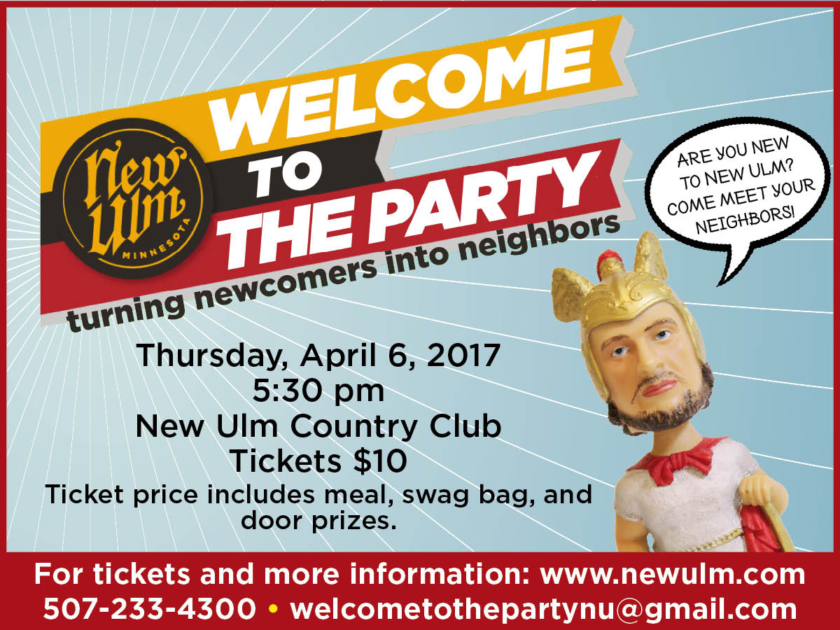 Newcomers Event Flyer