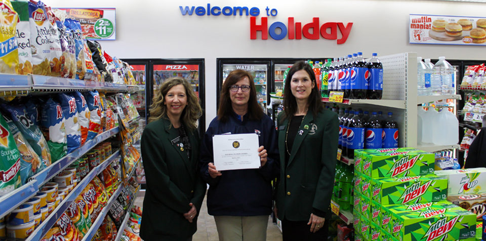 Renee Asche, Holiday Manager
