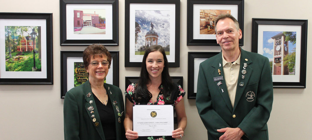 Sara Wilfahrt, Junior Achievement