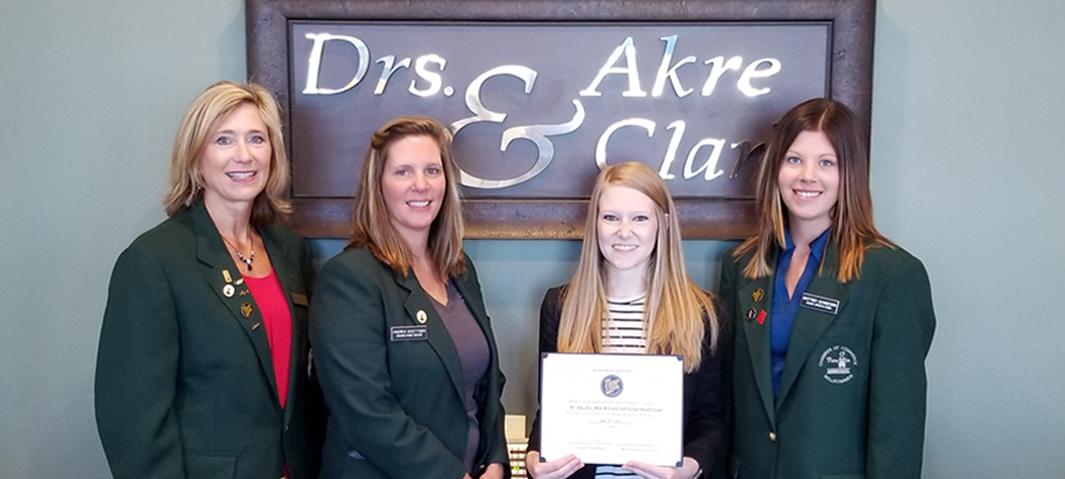 Taylor Oie, Drs. Akre & Clark Family Eye Care