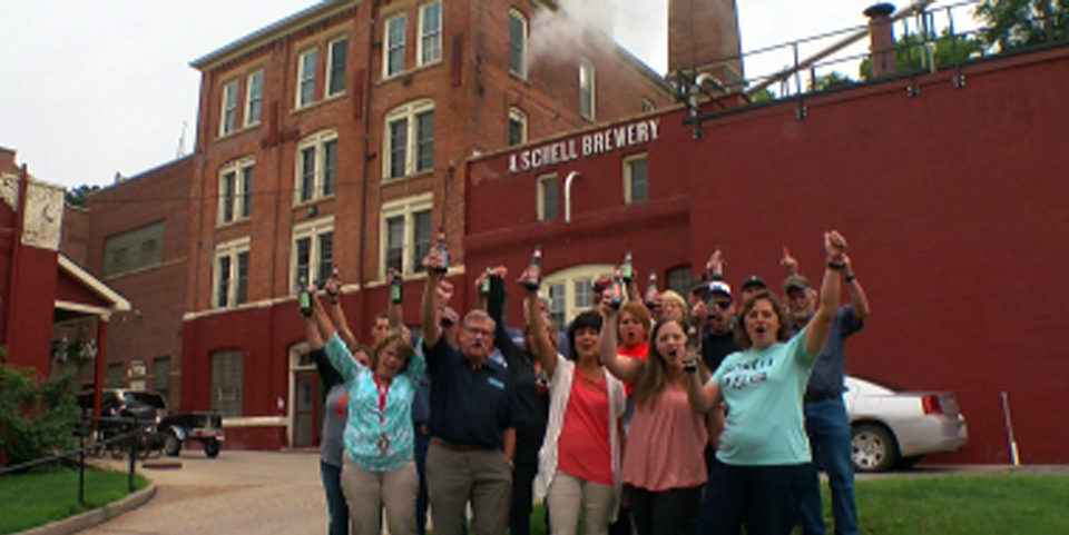 WCCO Schell's Brewery