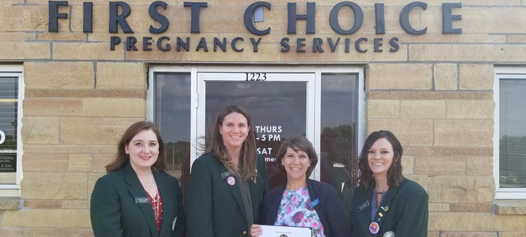 Darcy Lund, First Choice Pregnancy Services