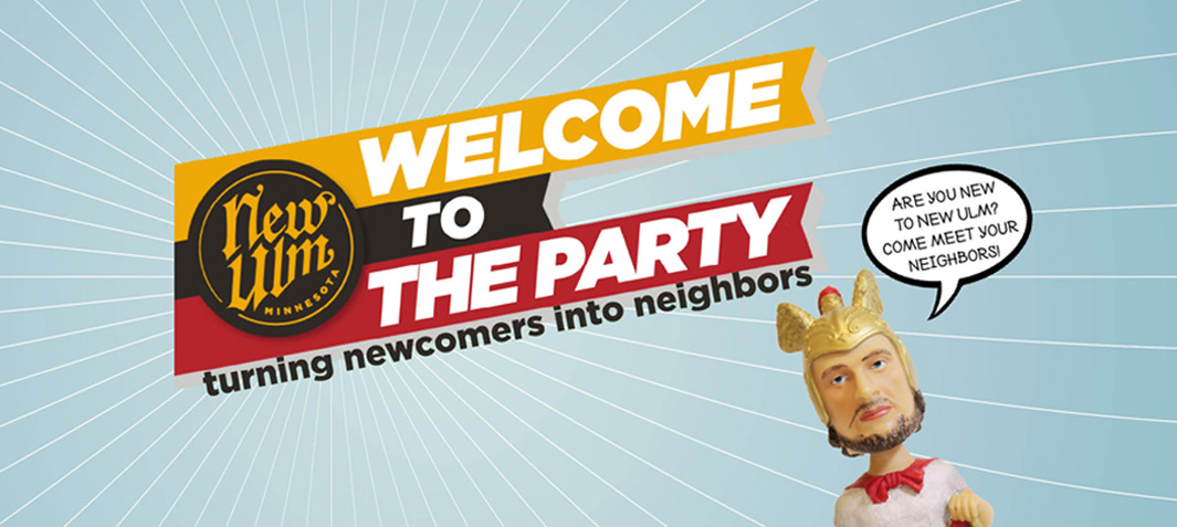 Welcome To The Party Newcomers Event