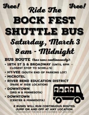 2018 Bock Fest Bus poster