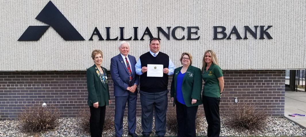 Alliance Bank, Nate Windschitl