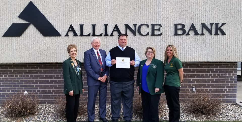 Alliance Bank, Nate Windschitl