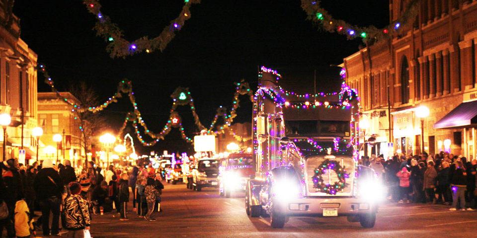Parade of Lights, New Ulm