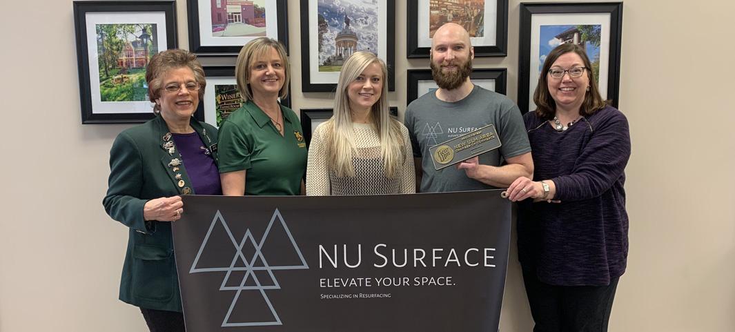 New Member: NU Surface   New Ulm Chamber & CVB