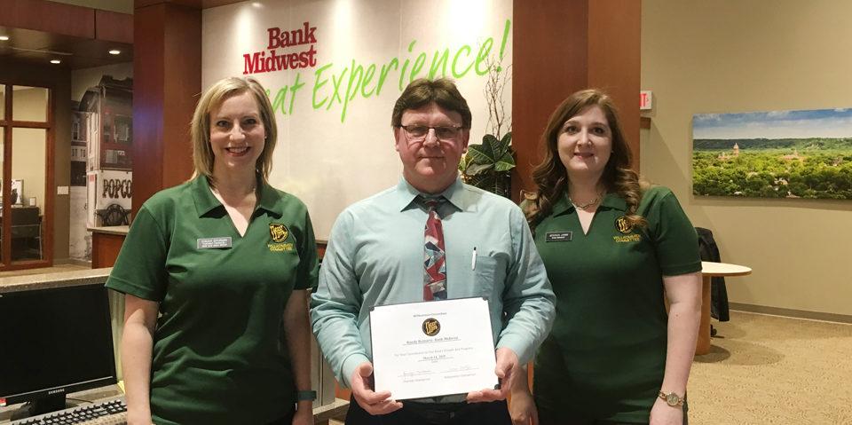 Randy Reinarts Bank Midwest