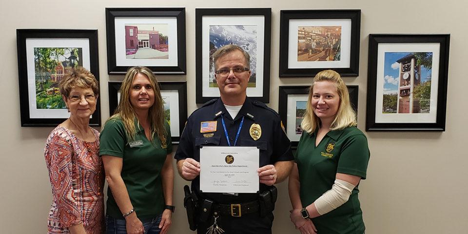 Dave Borchert New Ulm Police
