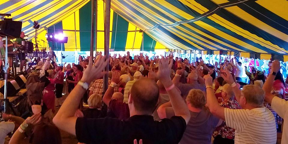 Bavarian Blast crowd, Schell's Tent