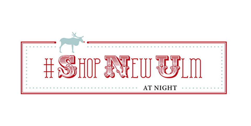 #shopnewulm At Night