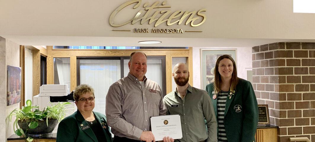 Citizens Bank Minnesota Mark Denn
