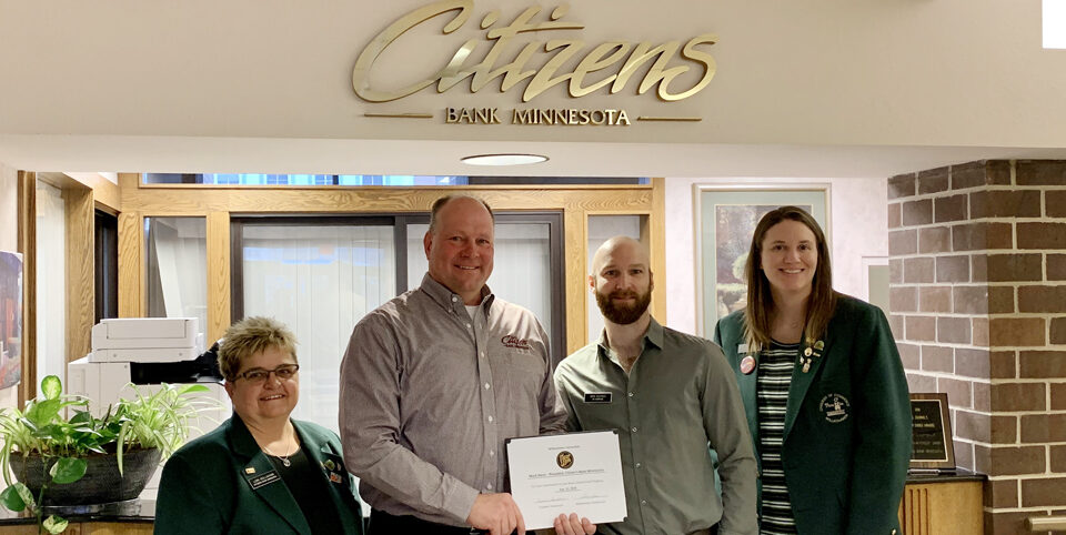 Citizens Bank Minnesota Mark Denn