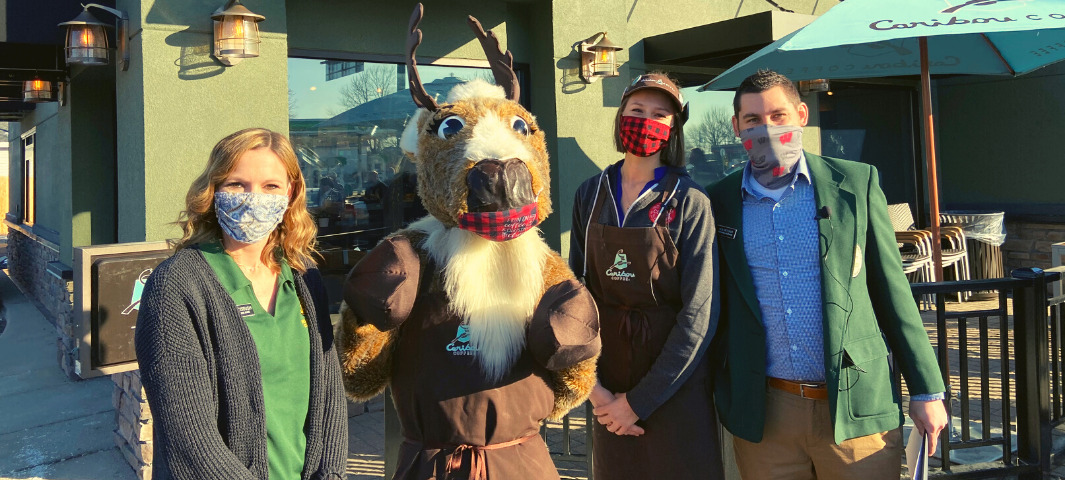 Caribou Grand Opening